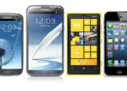 Сравнение Galaxy SIII, Galaxy Note II, Lumia 920 и iPhone 5