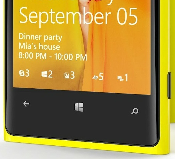 Экран блокировки Windows Phone 8