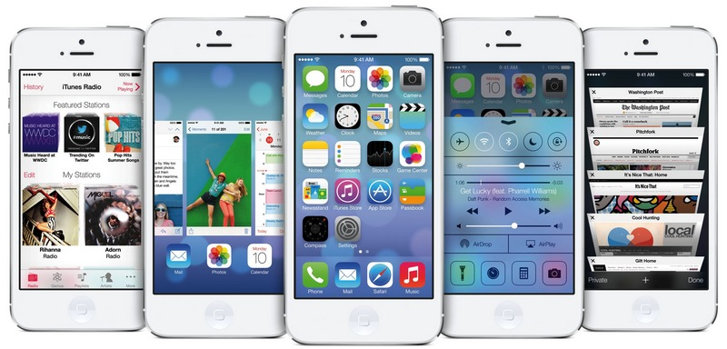 Apple iPhone на iOS 7