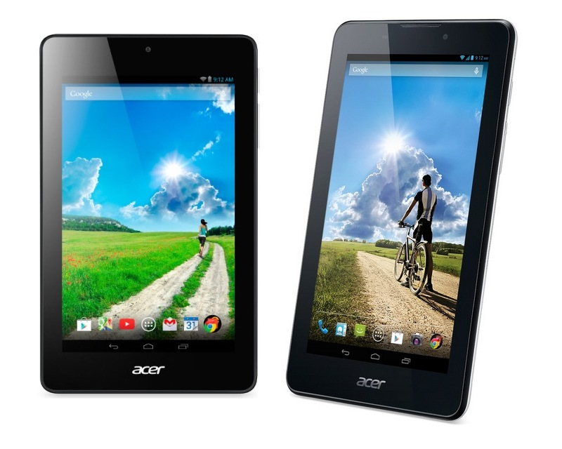 Acer Iconia One 7 и Acer Iconia Tab 7