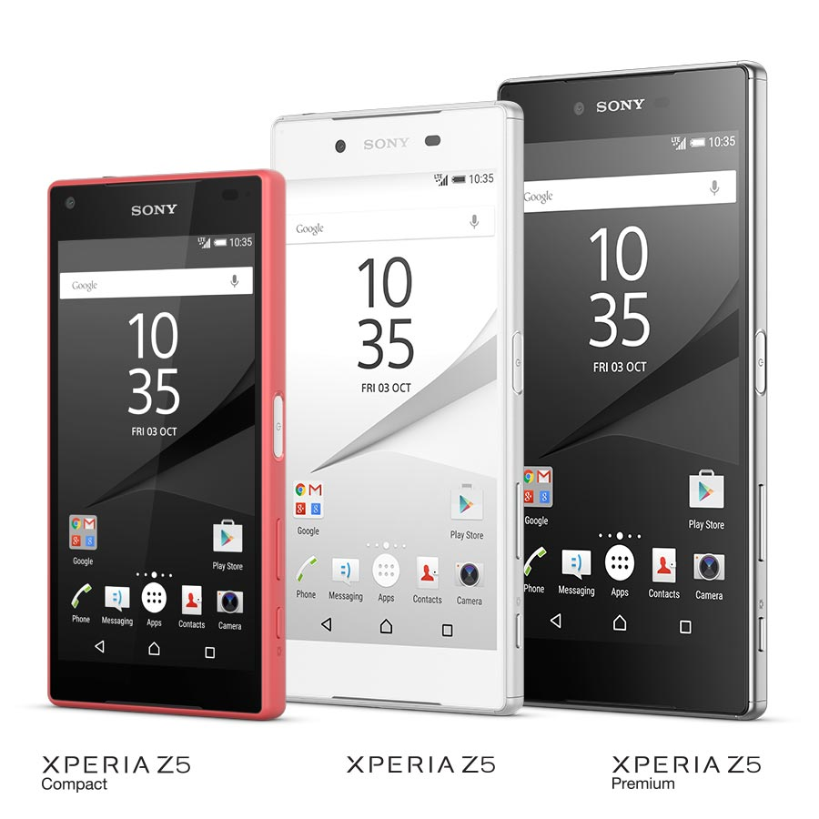 Sony Xperia Z5 Compact and Premium