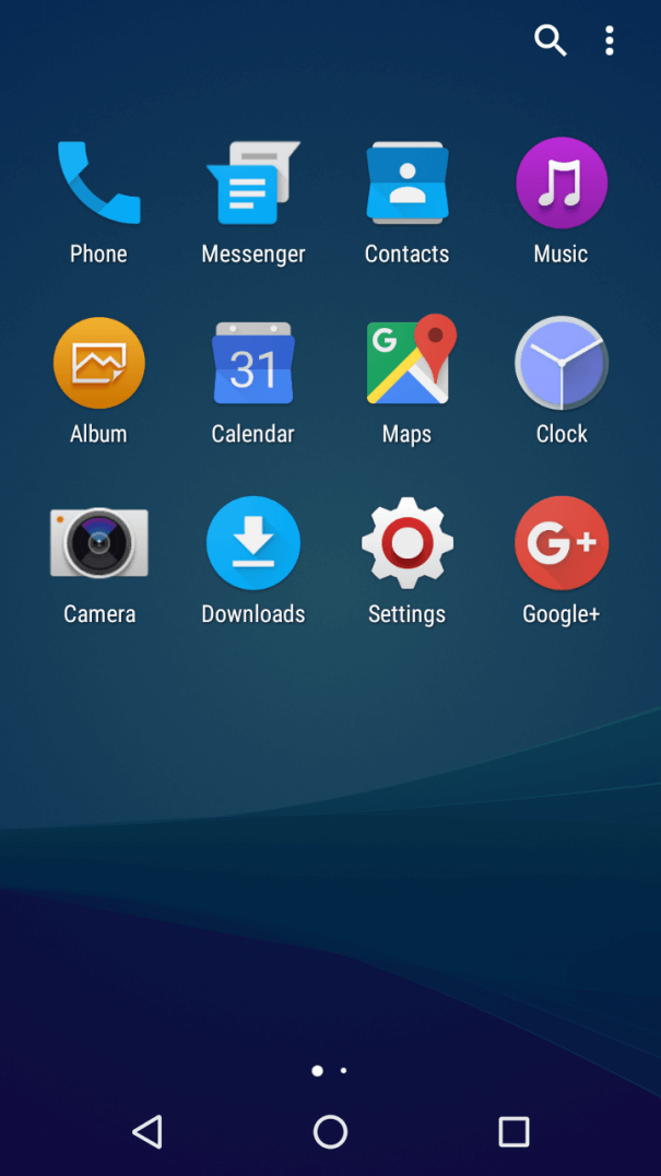 Android 6.0 Marshmallow on Xperia