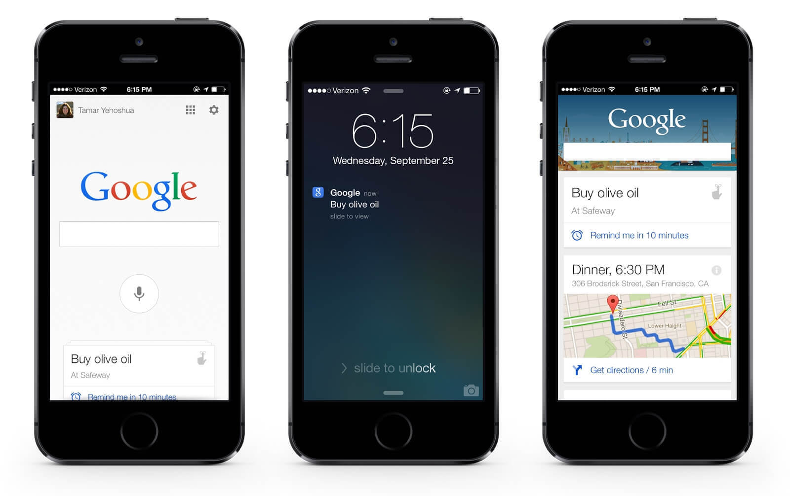 Google Search in Apple iPhone