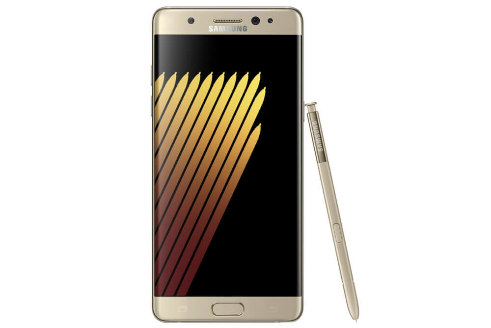 Galaxy Note 7 gold