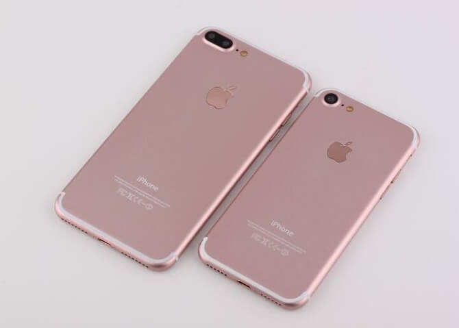 iPhone 7 Pro pink