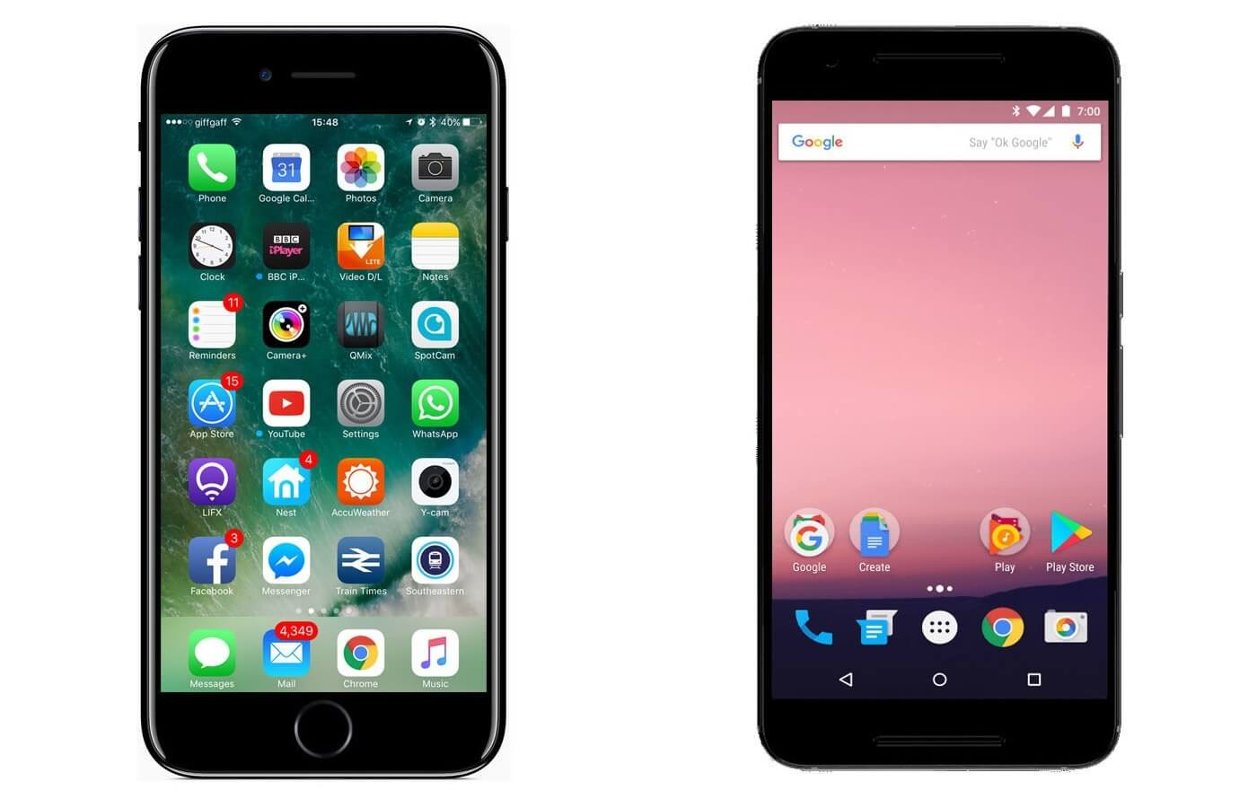 10-ios-7-0-and-android-nougat