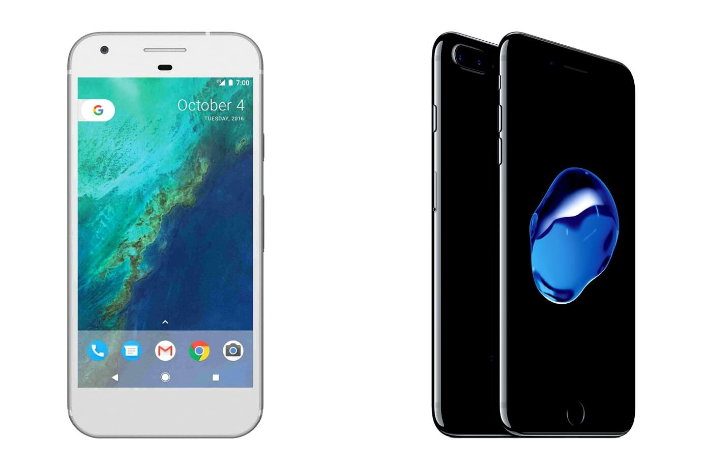 google-pixel-xl-and-apple-iphone-7-plus