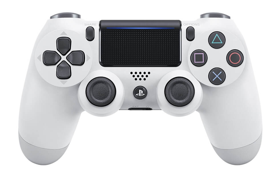 PS4 Slim White Gamepad