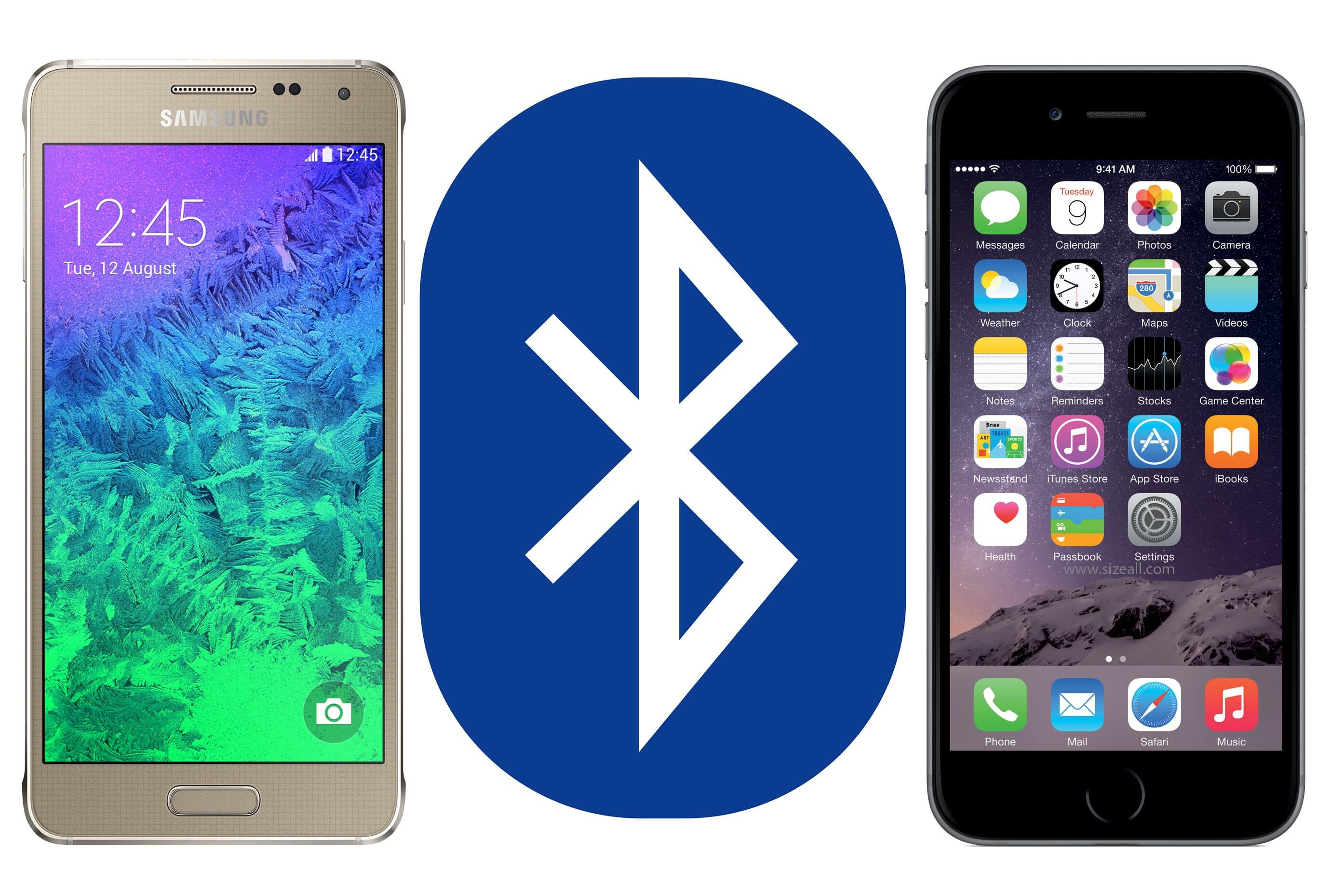 Bluetooth Mash on iPhone
