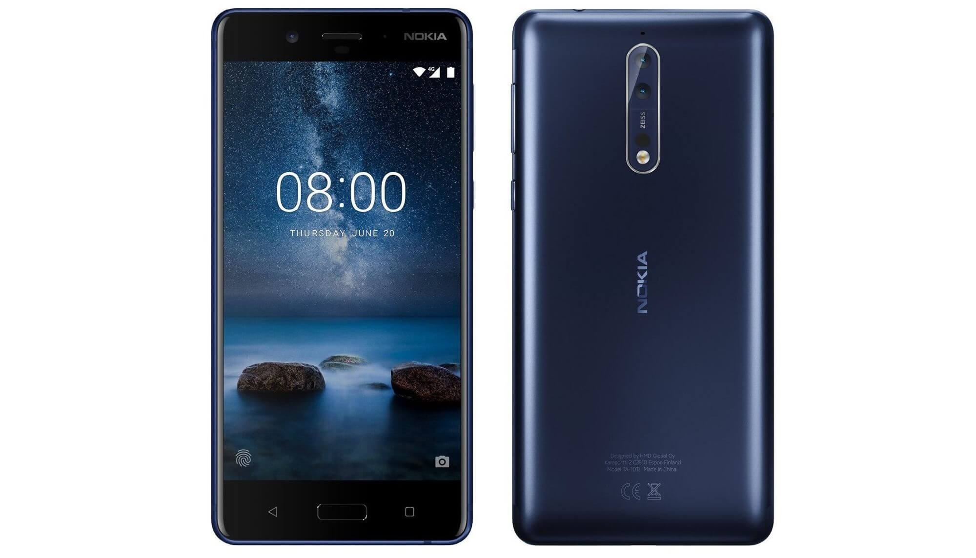 Nokia 8 от Carl Zeiss
