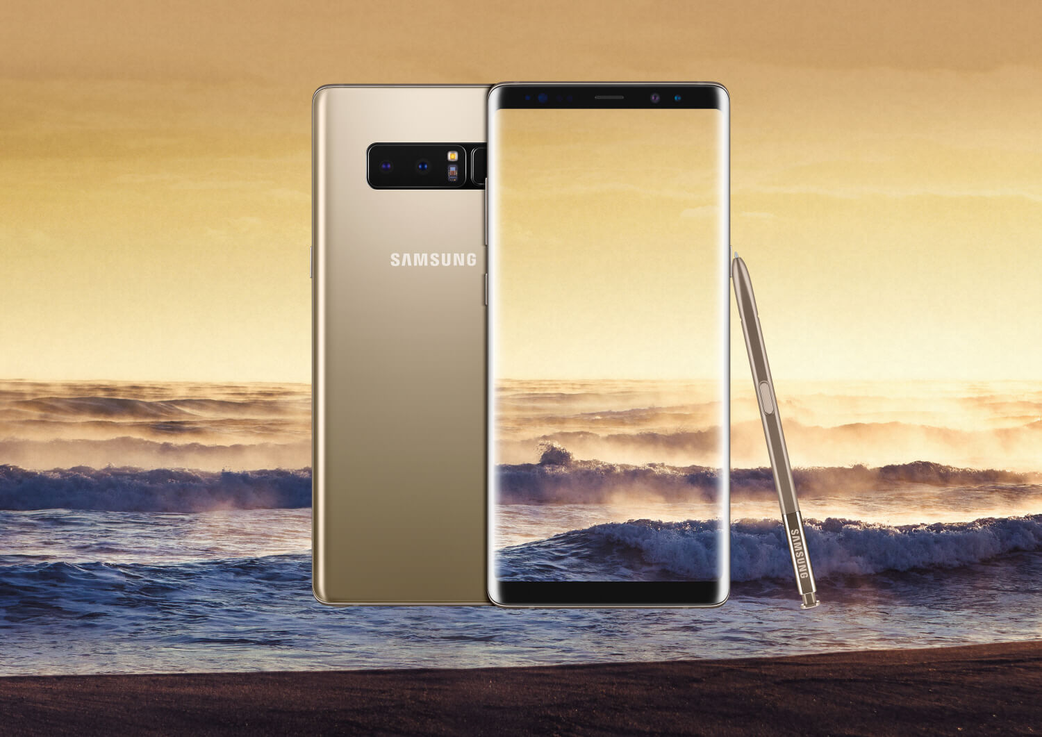 Galaxy Note8 gold