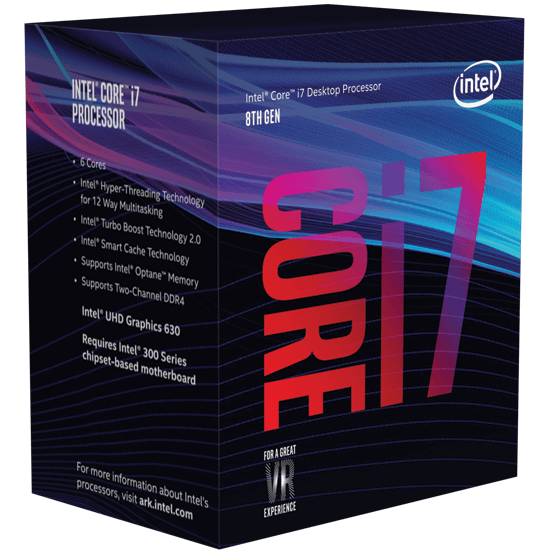 Intel Coffee Lake Core i7
