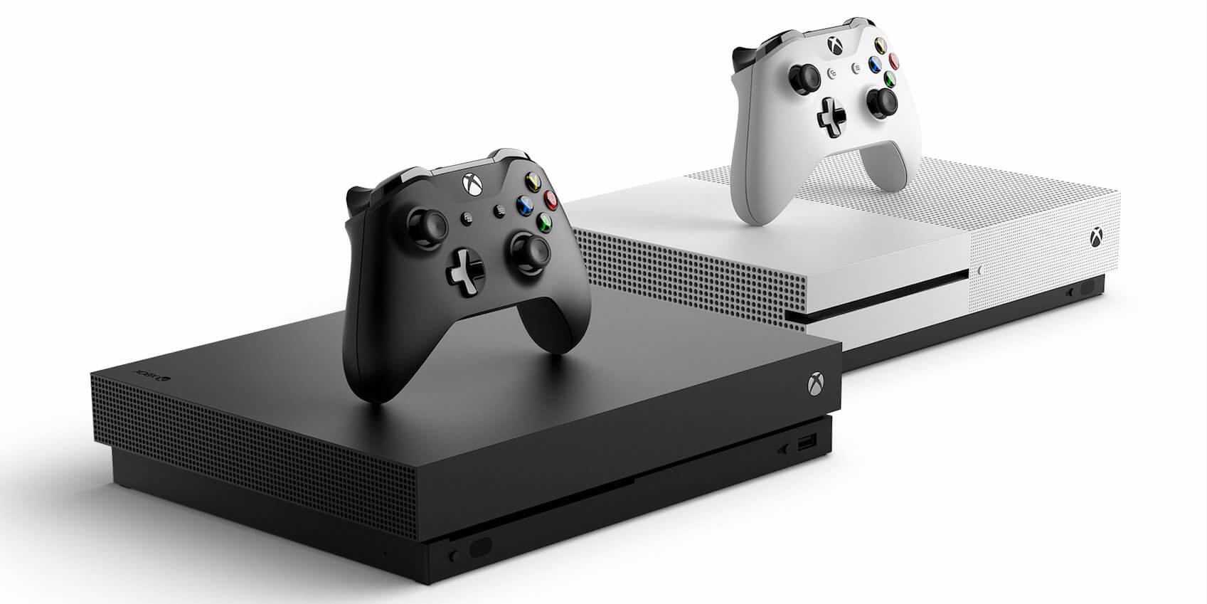 Xbox One X and One S