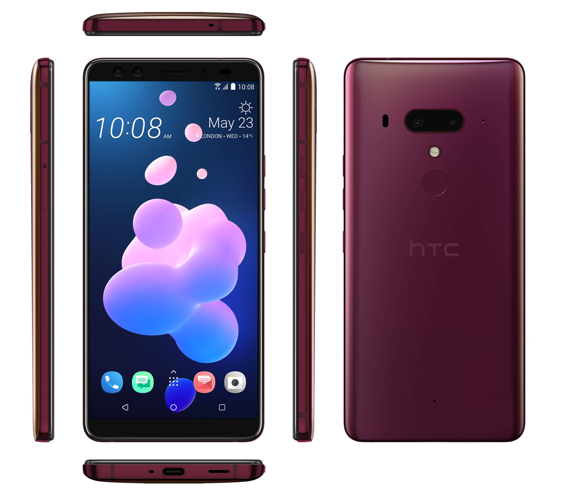 HTC U12 Plus red