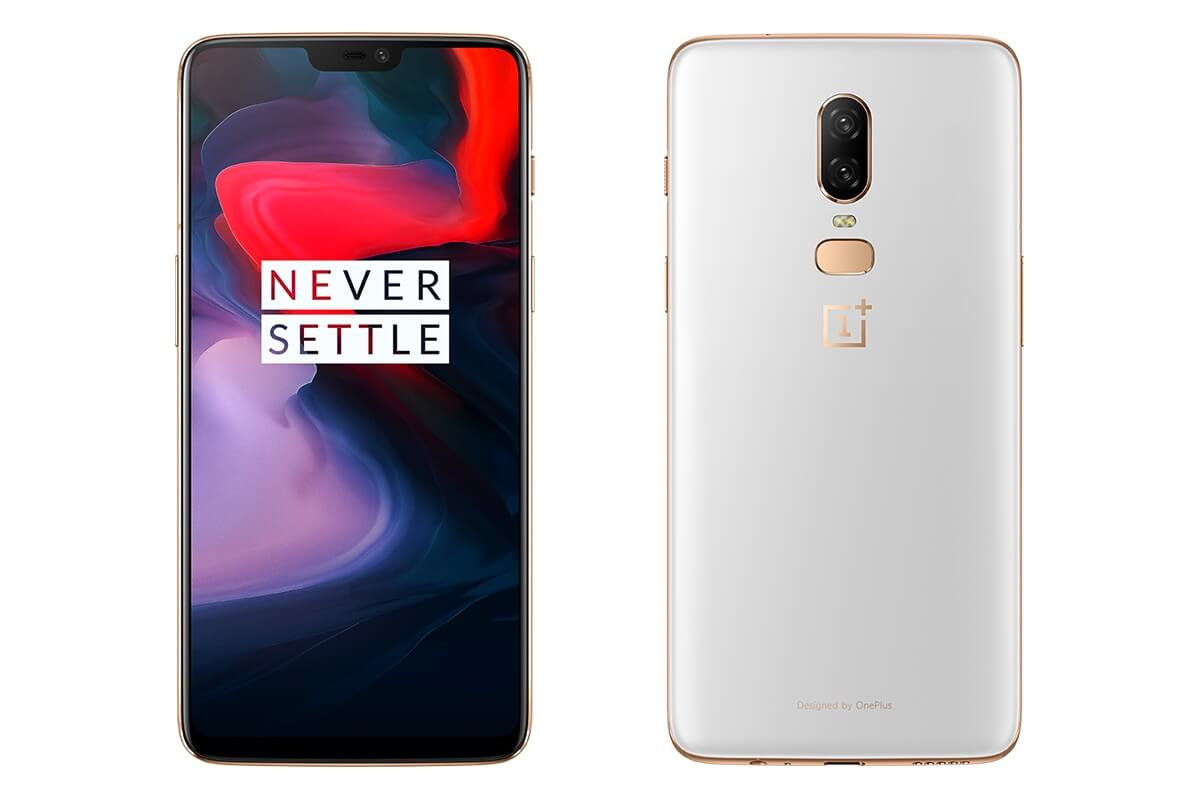 OnePlus 6 Silver