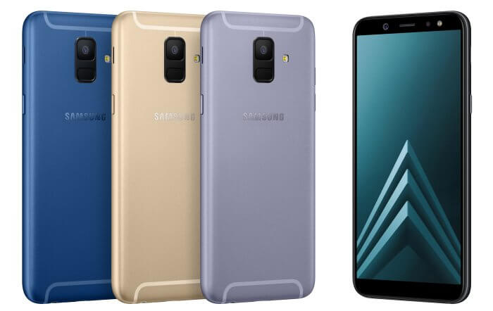 Samsung Galaxy A6 and Galaxy A6+