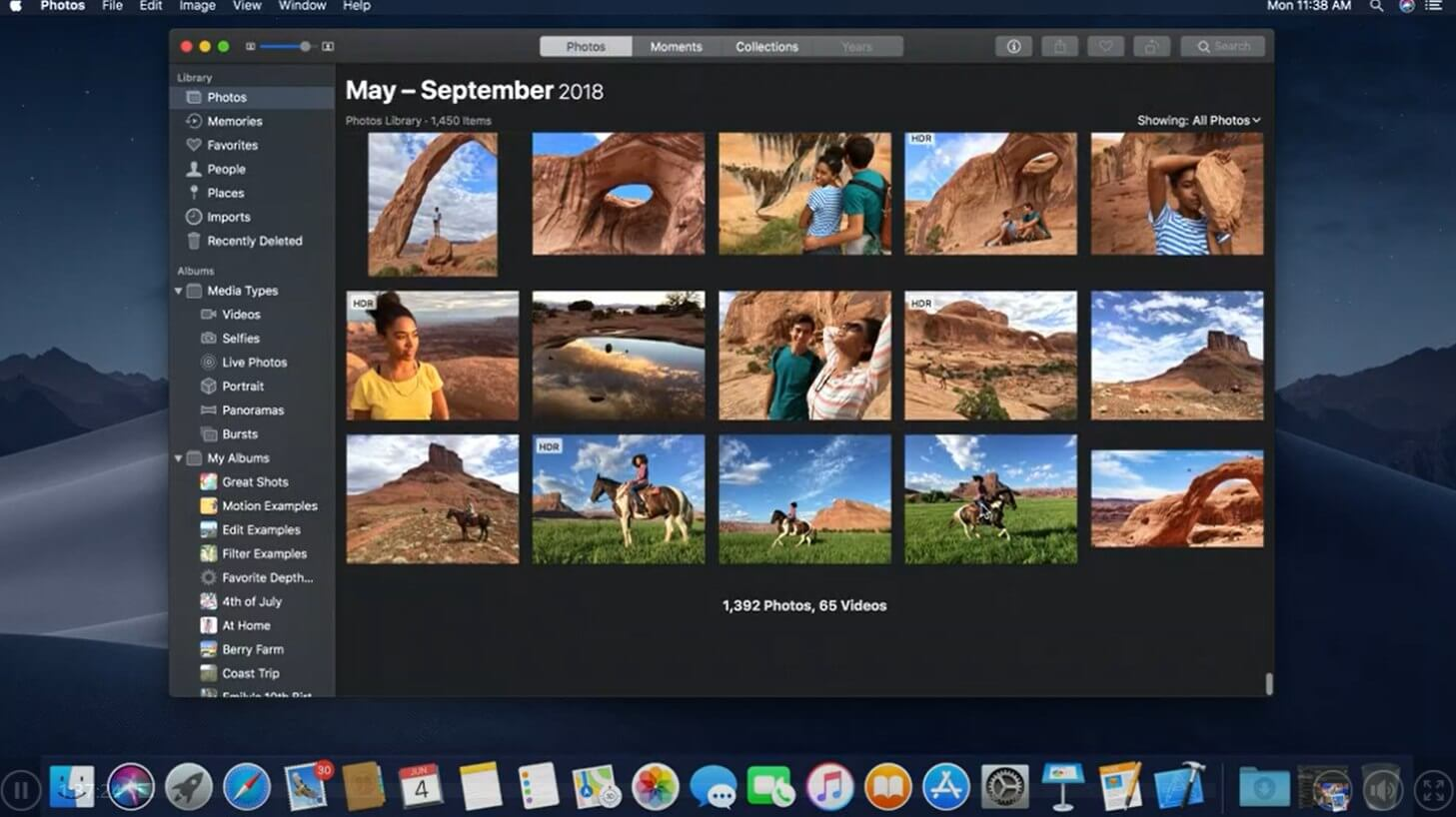 macOS Mojave Gallery View