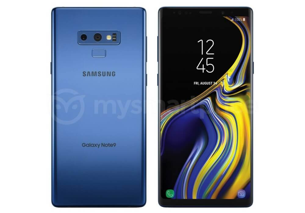 Galaxy Note 9 Deep Sea Blue