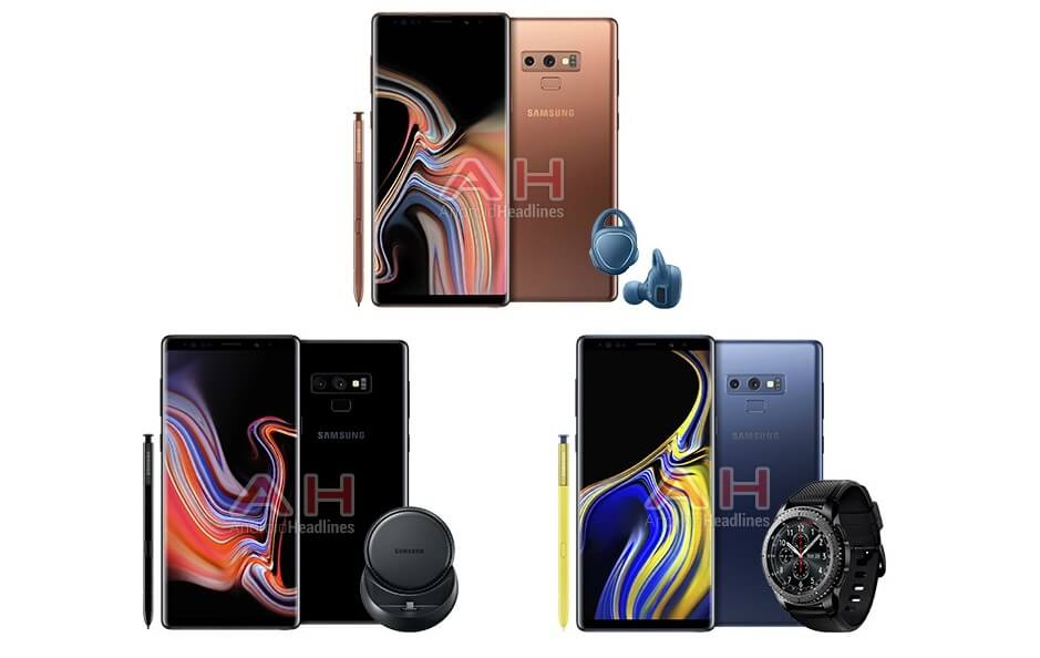 Galaxy Note 9 gifts