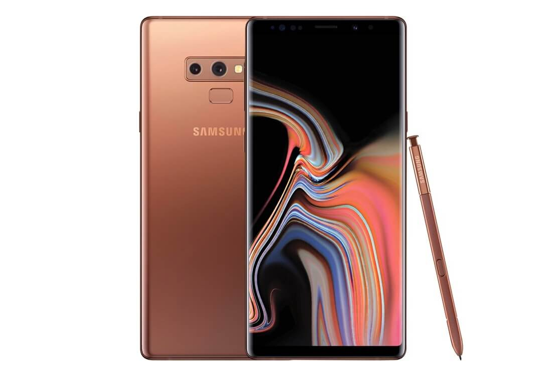 Samsung Galaxy Note 9 Coral