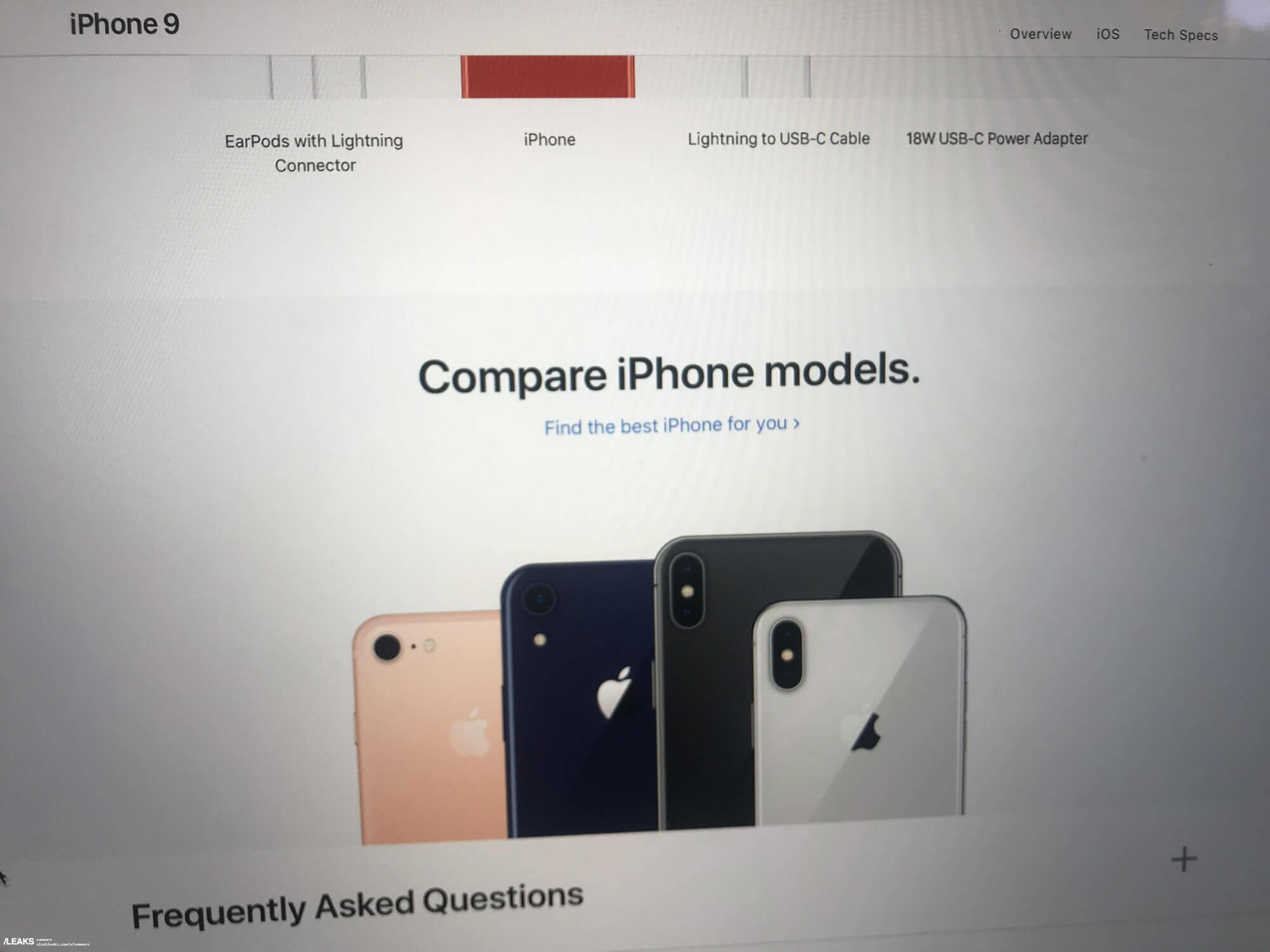 compare new iphone