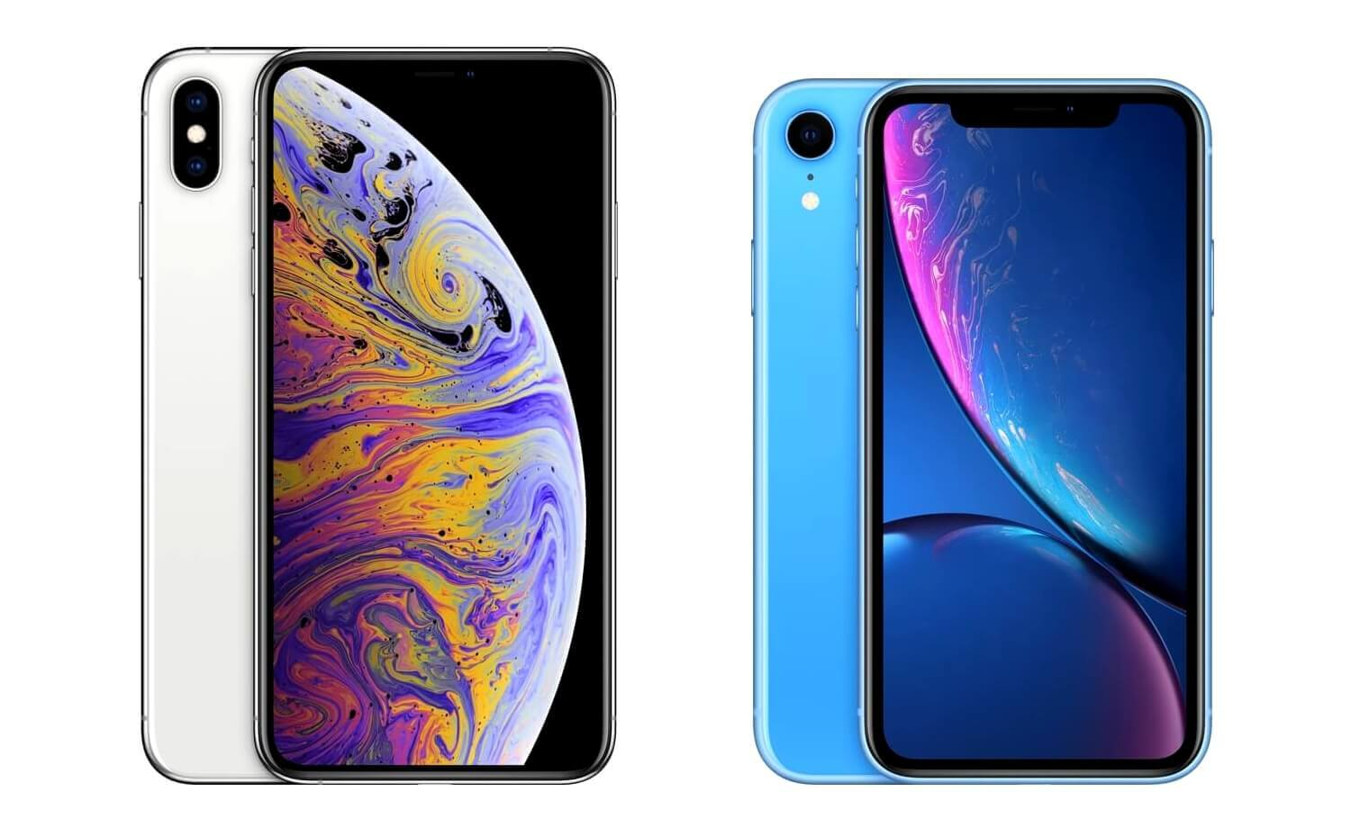 iPhone Xs Max и iPhone Xr