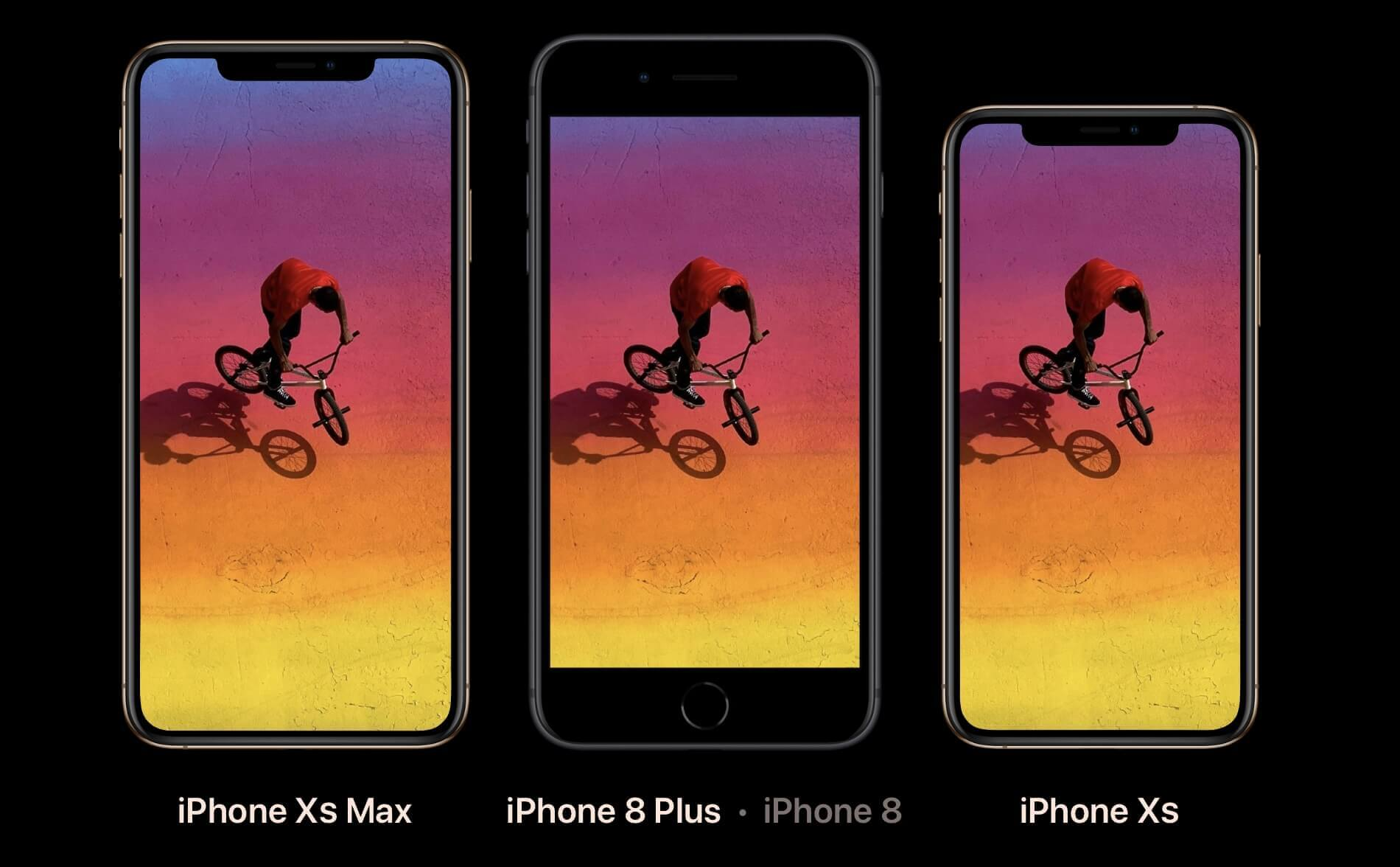 iPhone Xs and iPhone Xs Max Compare
