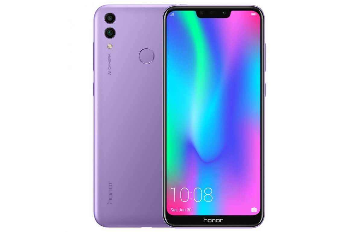Honor 8C Nebula Purple