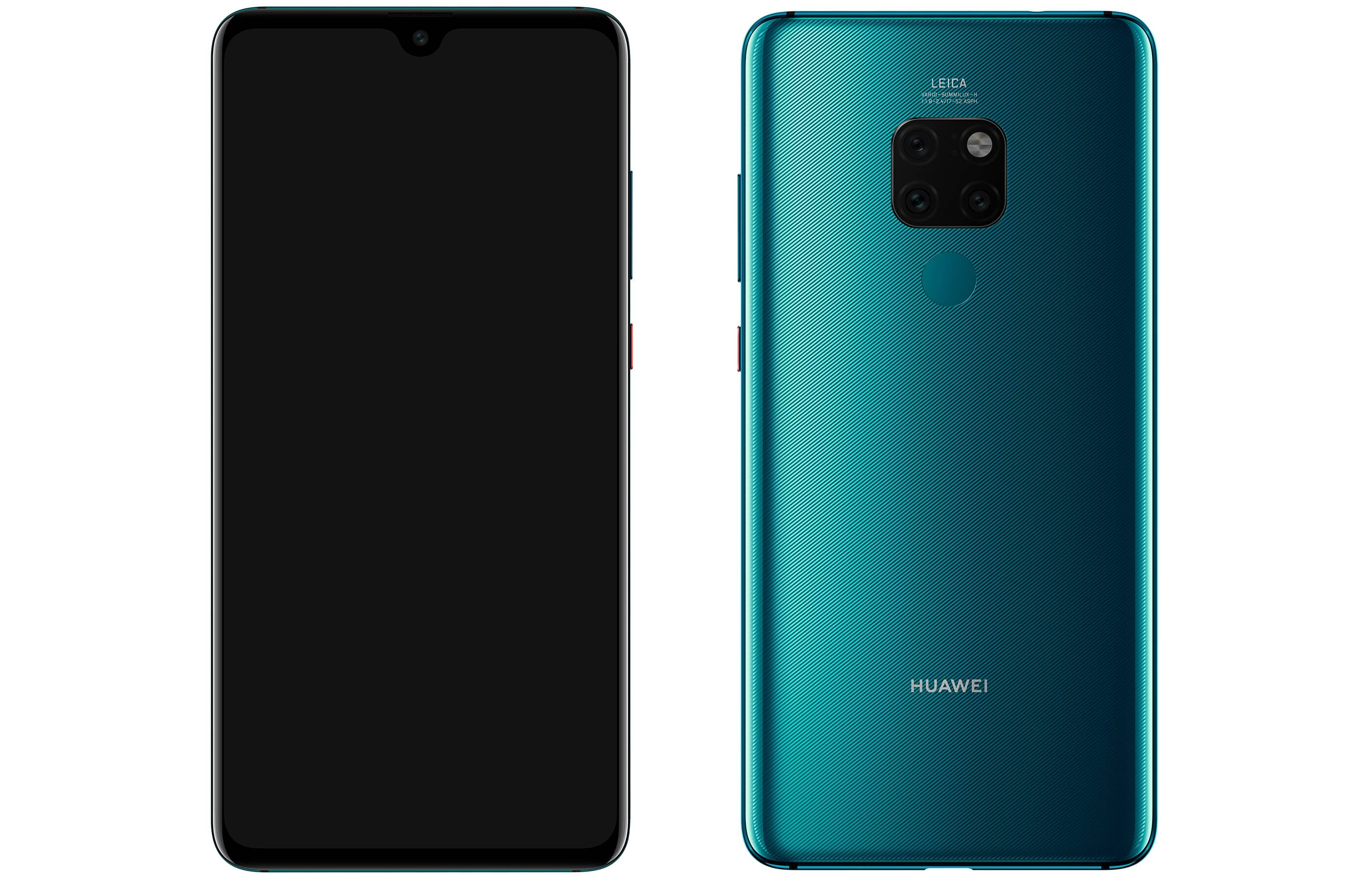 Mate 20_Green_Front