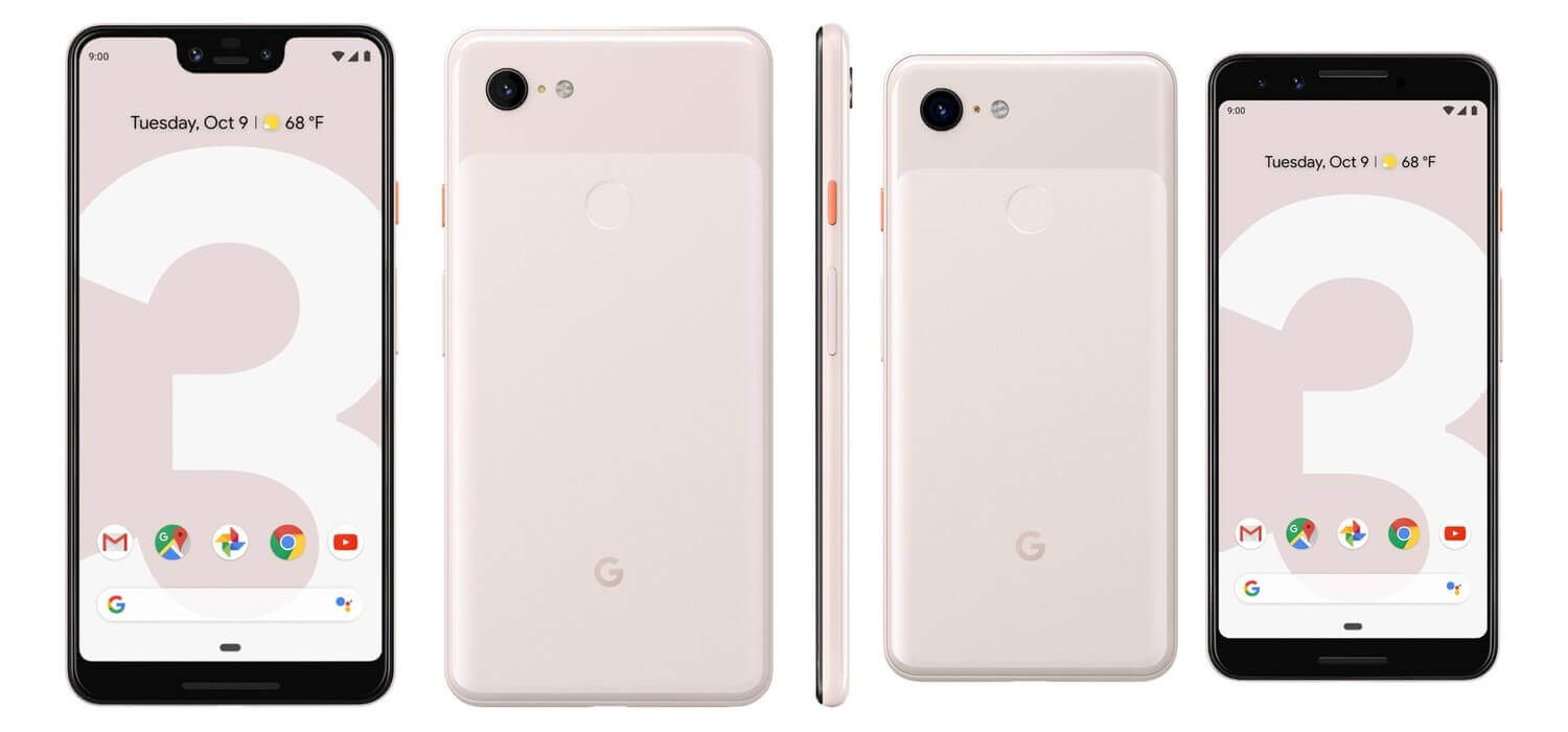 Pixel 3 XL and Pixel 3 Cream