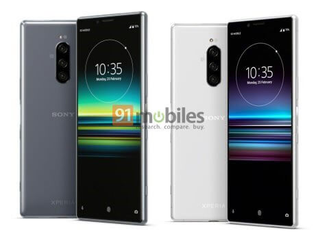 Sony-XPeria-1-grey-and-silver