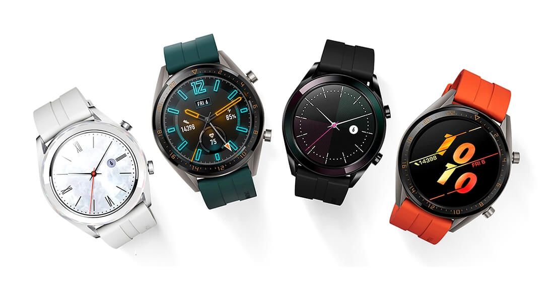 Huawei Watch GT Active and Elegant