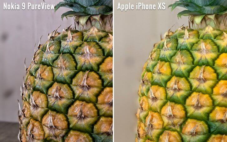 Nokia 9 PureView vs iPhone XS Max
