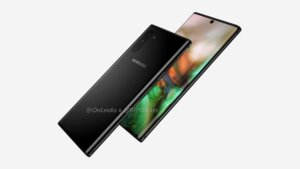 Дизайн Samsung Galaxy Note10 показали на фото и видео