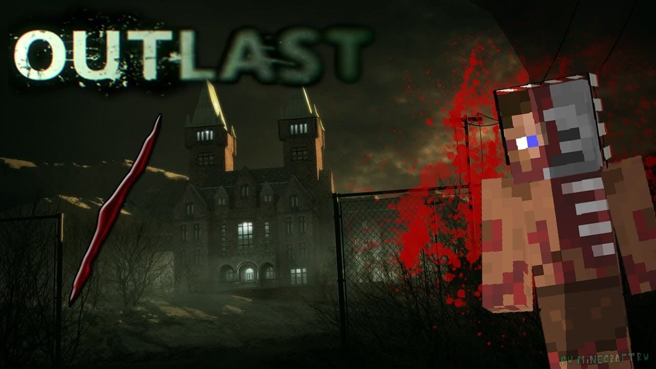 Minecraft PE Outlast