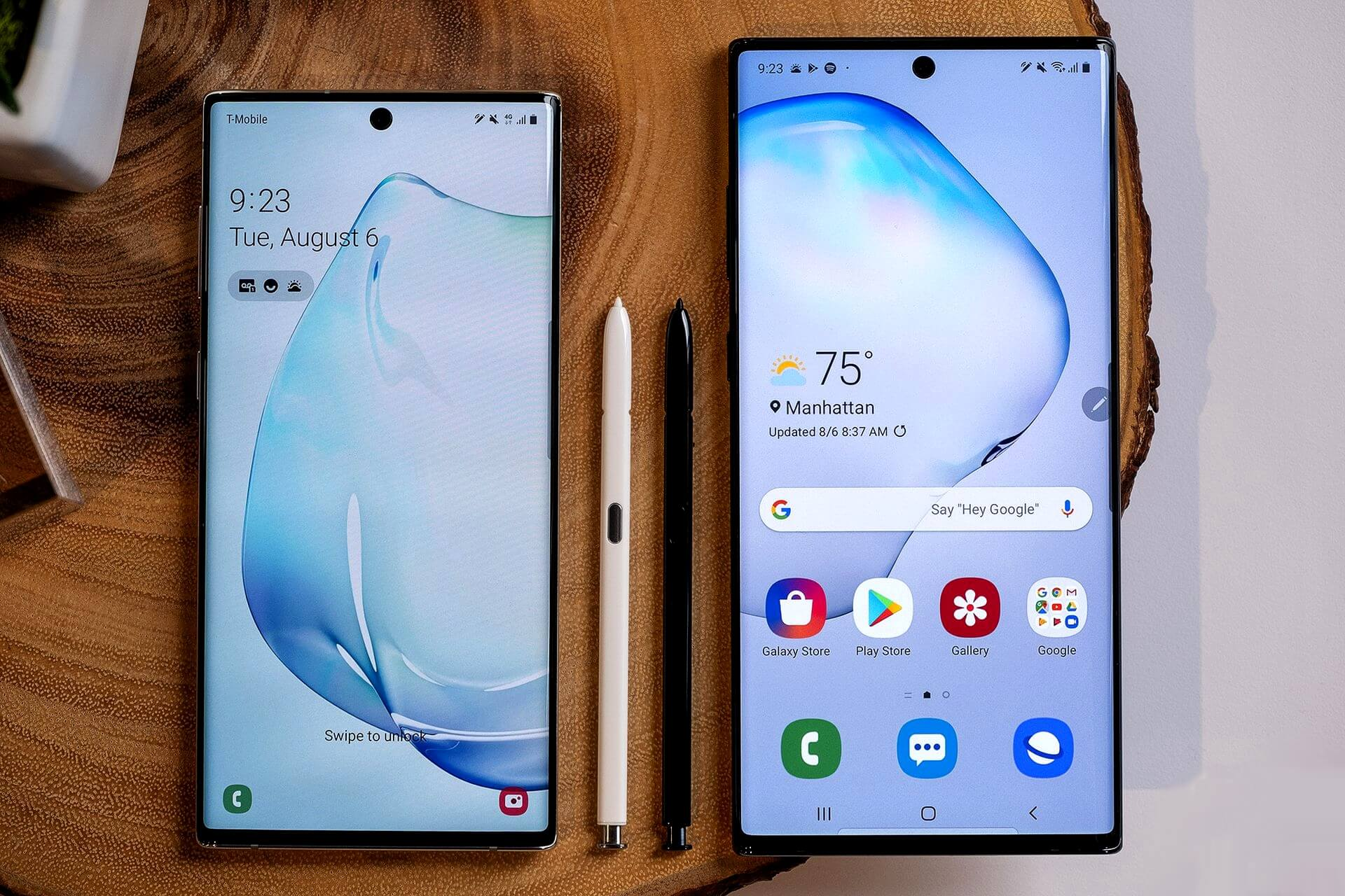 Samsung Galaxy Note10 и Galaxy Note10 Plus