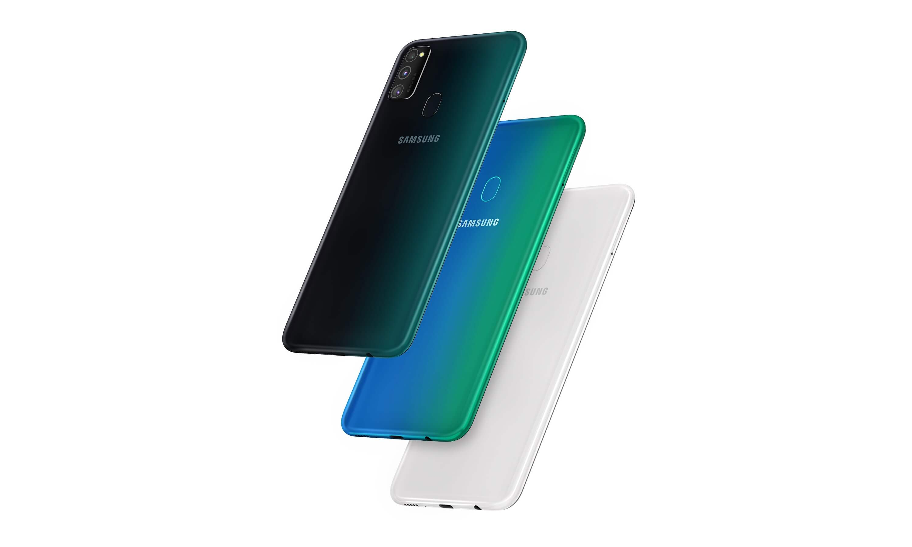 Galaxy M30s colors