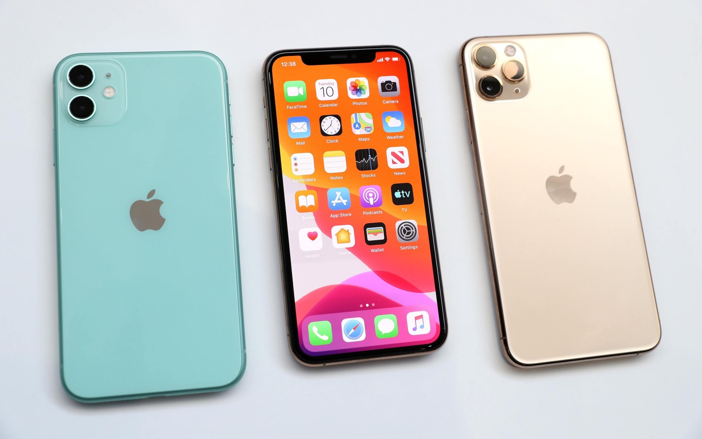 iPhone 11 and iPhone 11 Pro Max