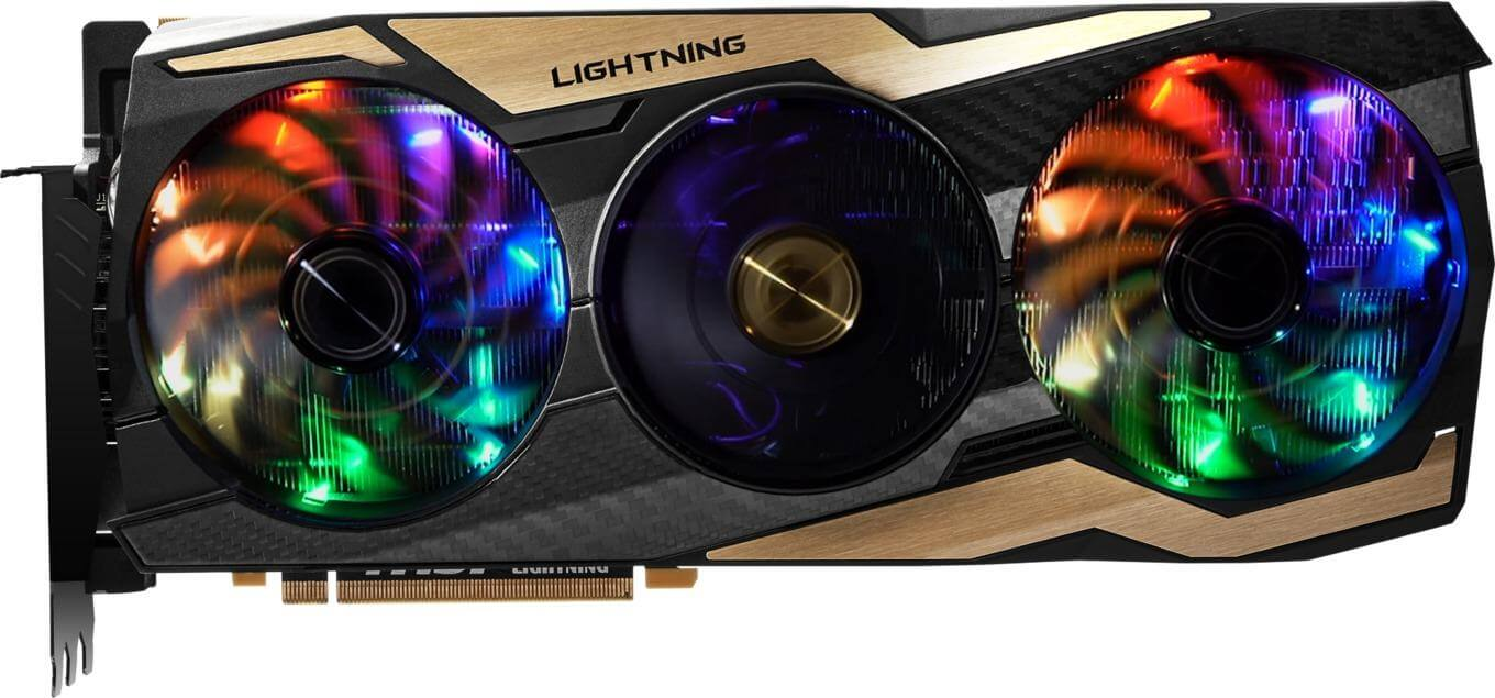 GeForce RTX 2080 Ti Lightning 10th Anniversary Edition