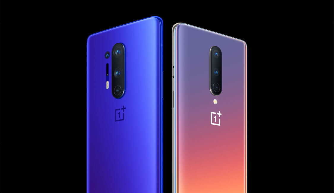 OnePlus 8 Pro and OnePlus 8