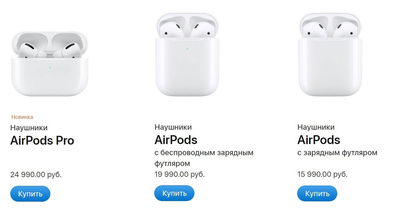 AirPods prices