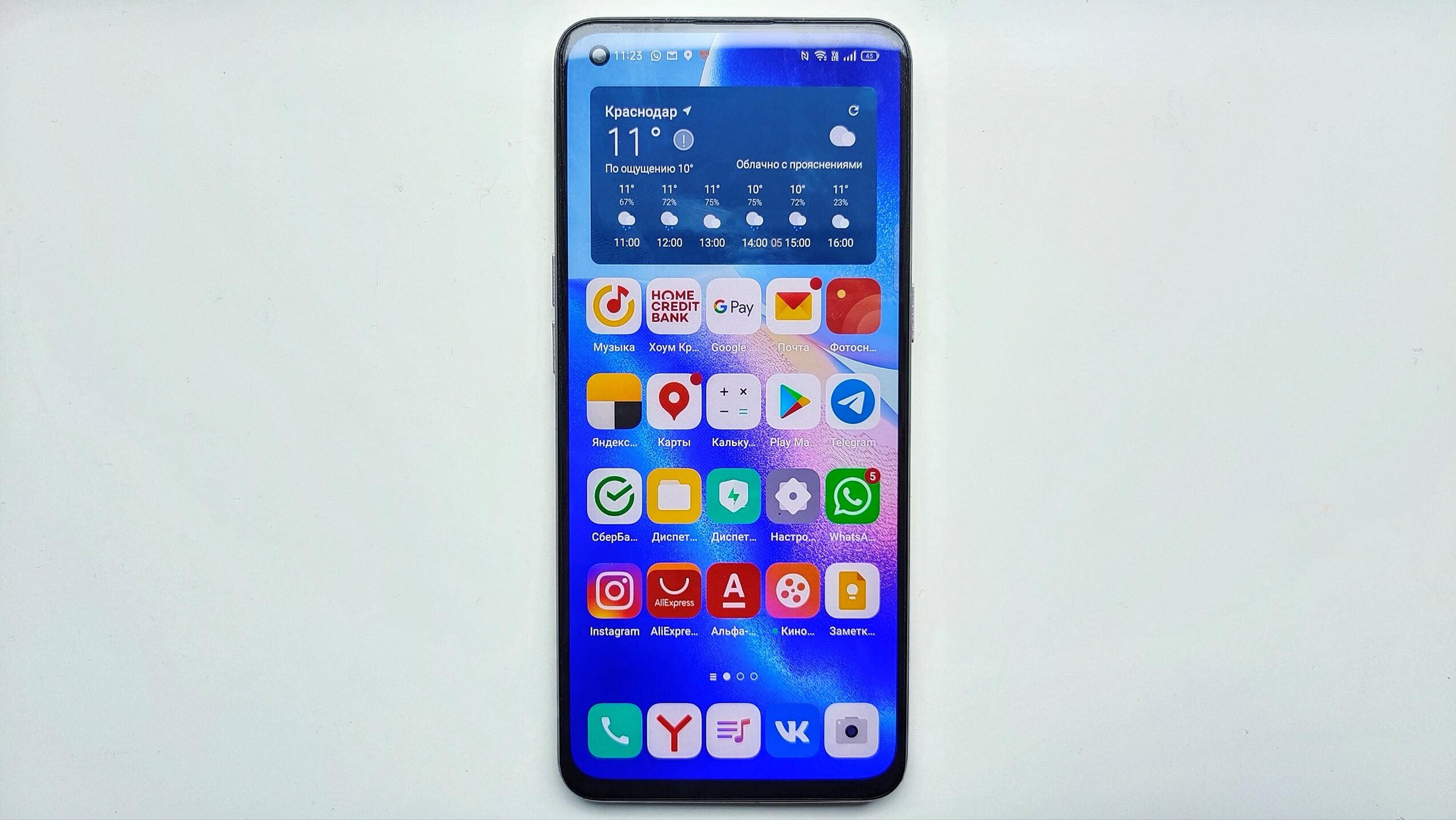 OPPO Reno 5 Front Side