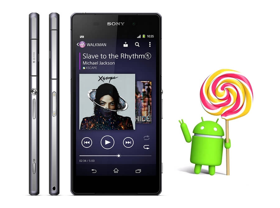 Xperia Z2 на Android 5.0.2